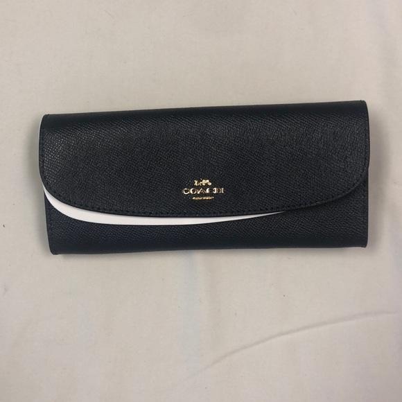Coach Handbags - Dark Navy Coach Wallet